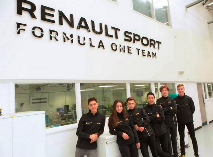Marta García prepara la temporada con Renault Sport Racing