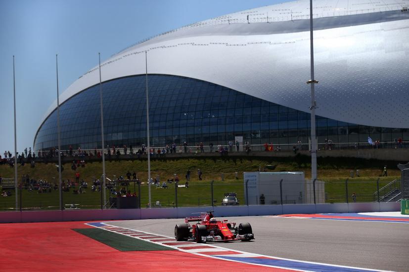 GP de Rusia de F1: pole position de récord para Sebastian Vettel