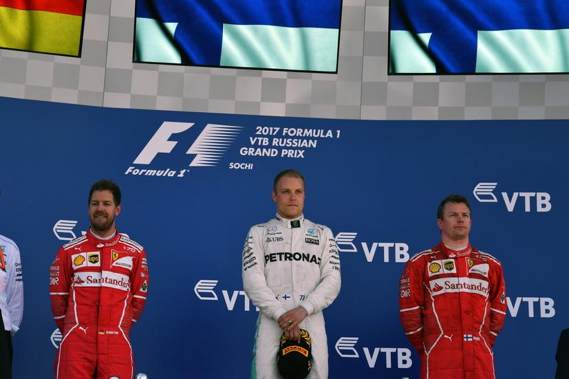 GP de Rusia de F1: las clasificaciones