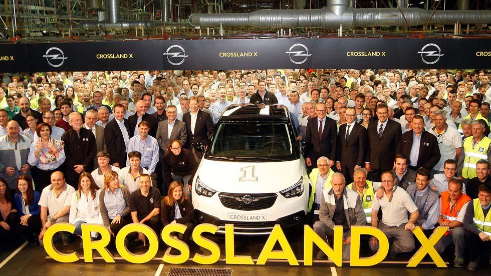 El SUV Opel Crossland X ya está en producción