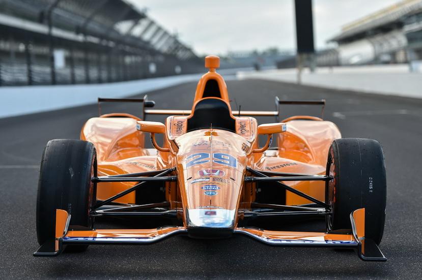 Así es el monoplaza de Alonso para la Indy 500 (fotos)