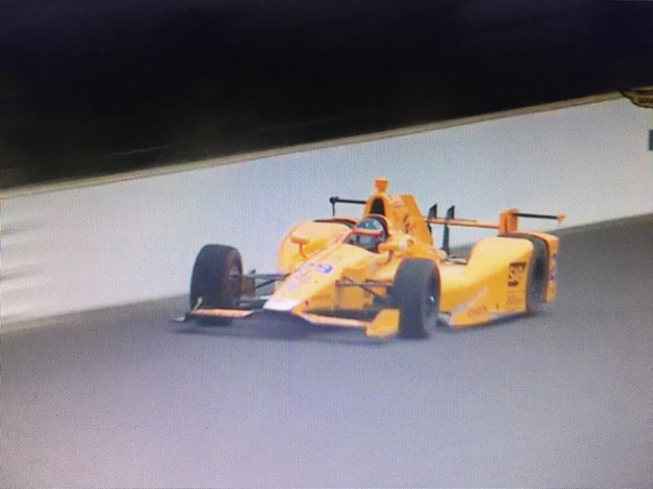 """Alonso finalizó el """"rookie test"""" en Indianapolis: balance y opiniones"""