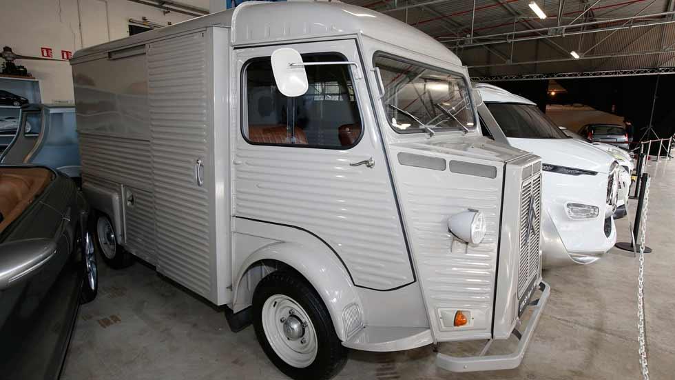 Citroën rinde homenaje a la  furgoneta Type H