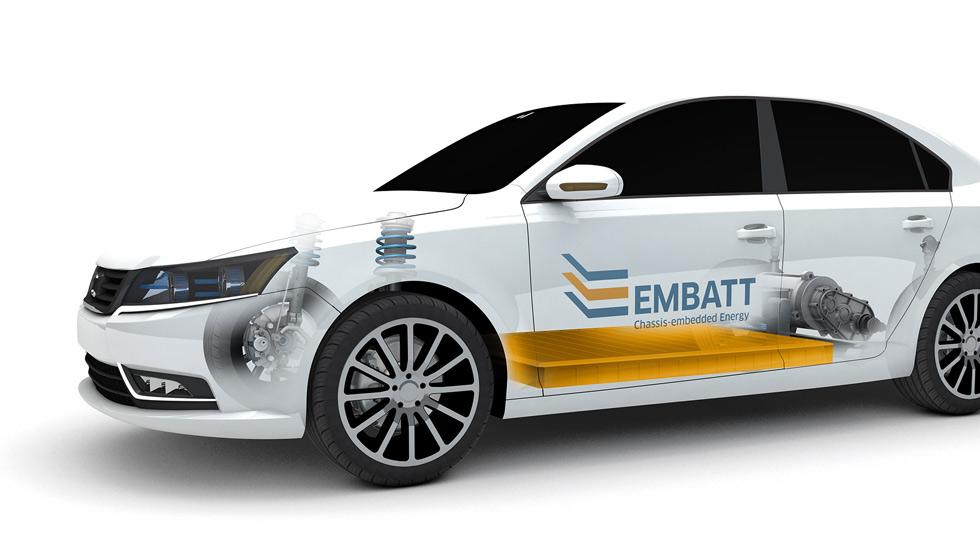 Nuevas baterías EMBATT: 1.000 km de autonomía para los eléctricos