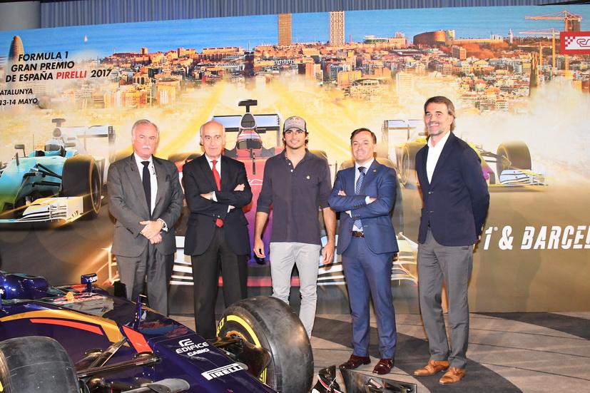 Fórmula 1: se presenta oficialmente el Gran Premio de España