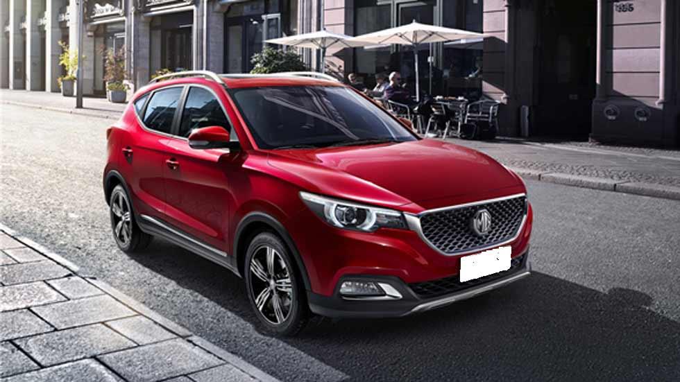 MG XS, el nuevo SUV pequeño para Europa