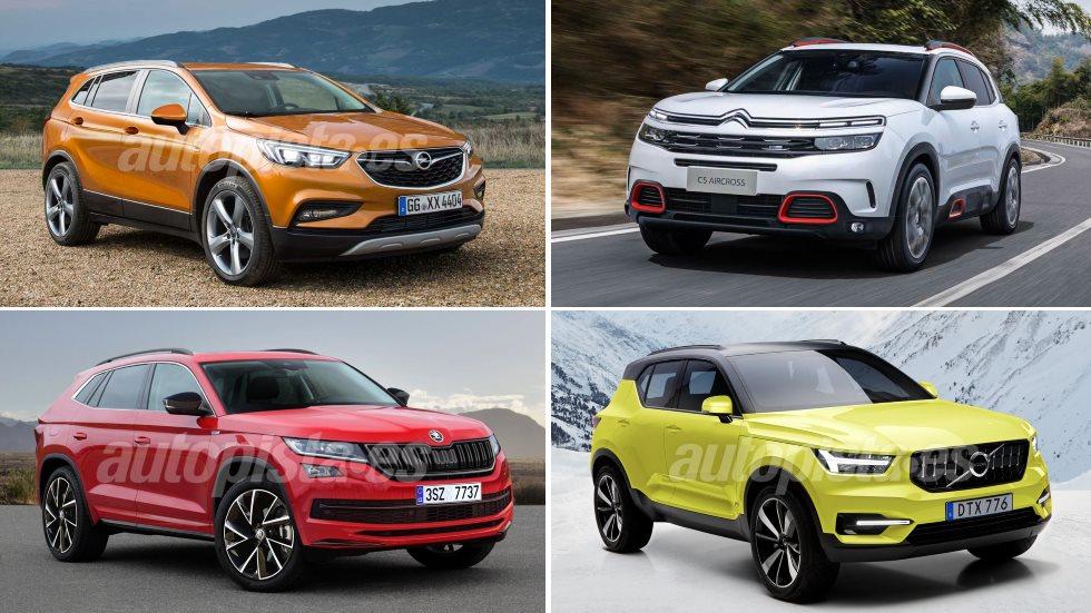 10 SUV que vienen: XC40, C5 Aircross, X2, GLA, Kodiaq Coupé…