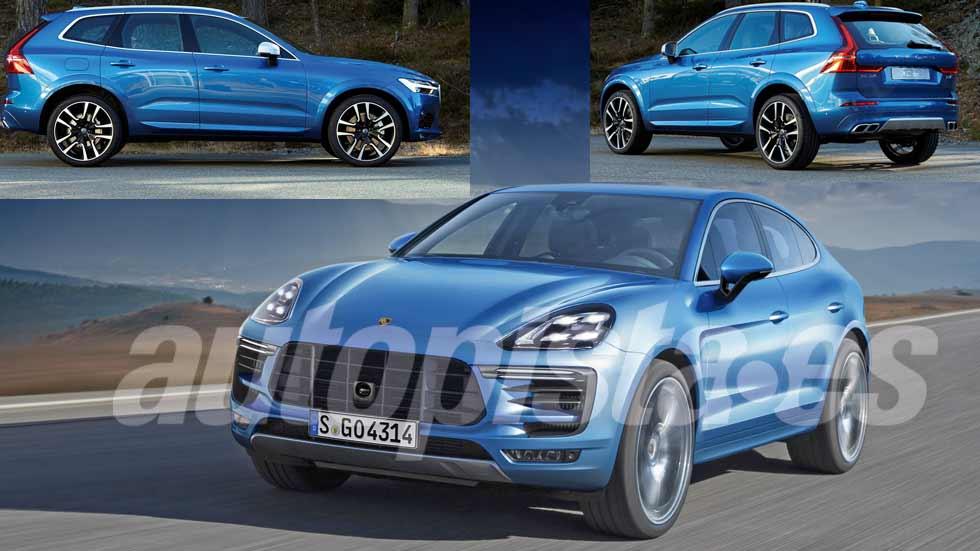 Revista Autopista 3007: las claves de los SUV Volvo XC60 2017 y Porsche Cayenne 2018