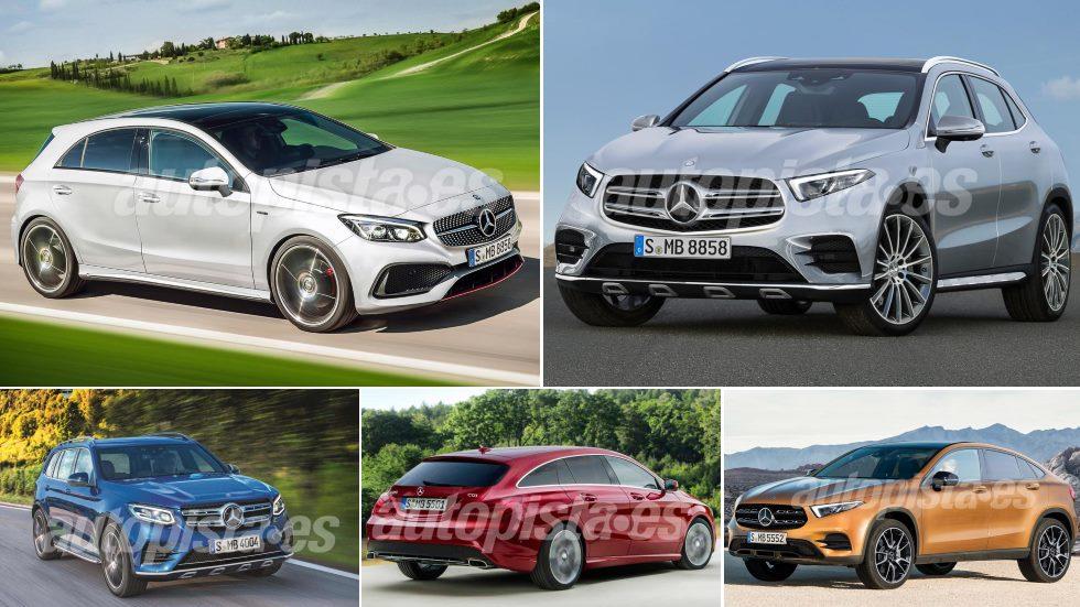 Los 8 nuevos coches y SUV compactos que estrenará Mercedes