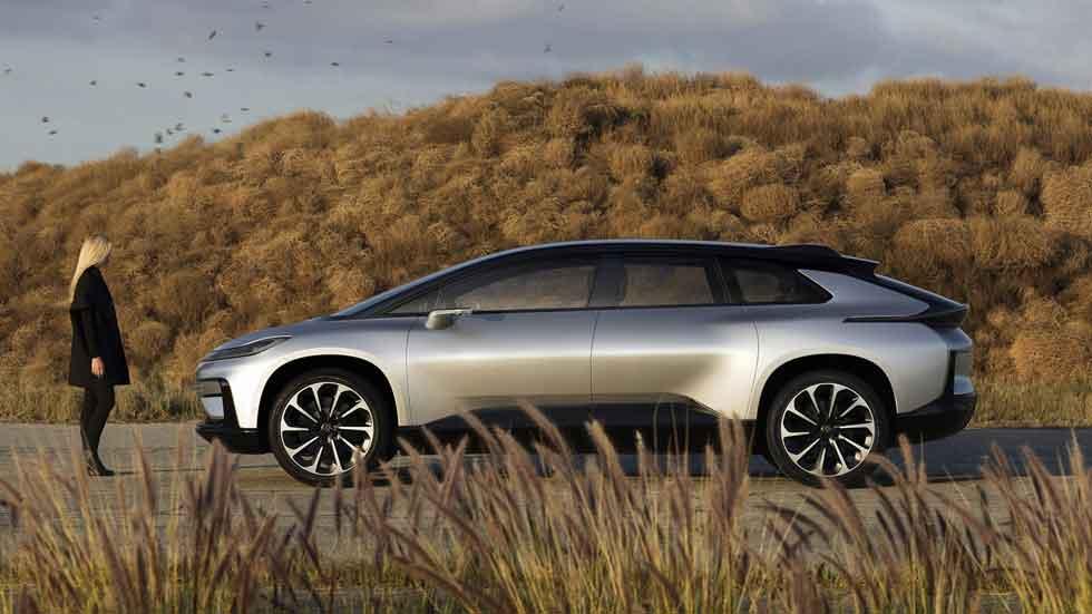 Así es el súper SUV eléctrico Faraday Future FF 91, en vídeo