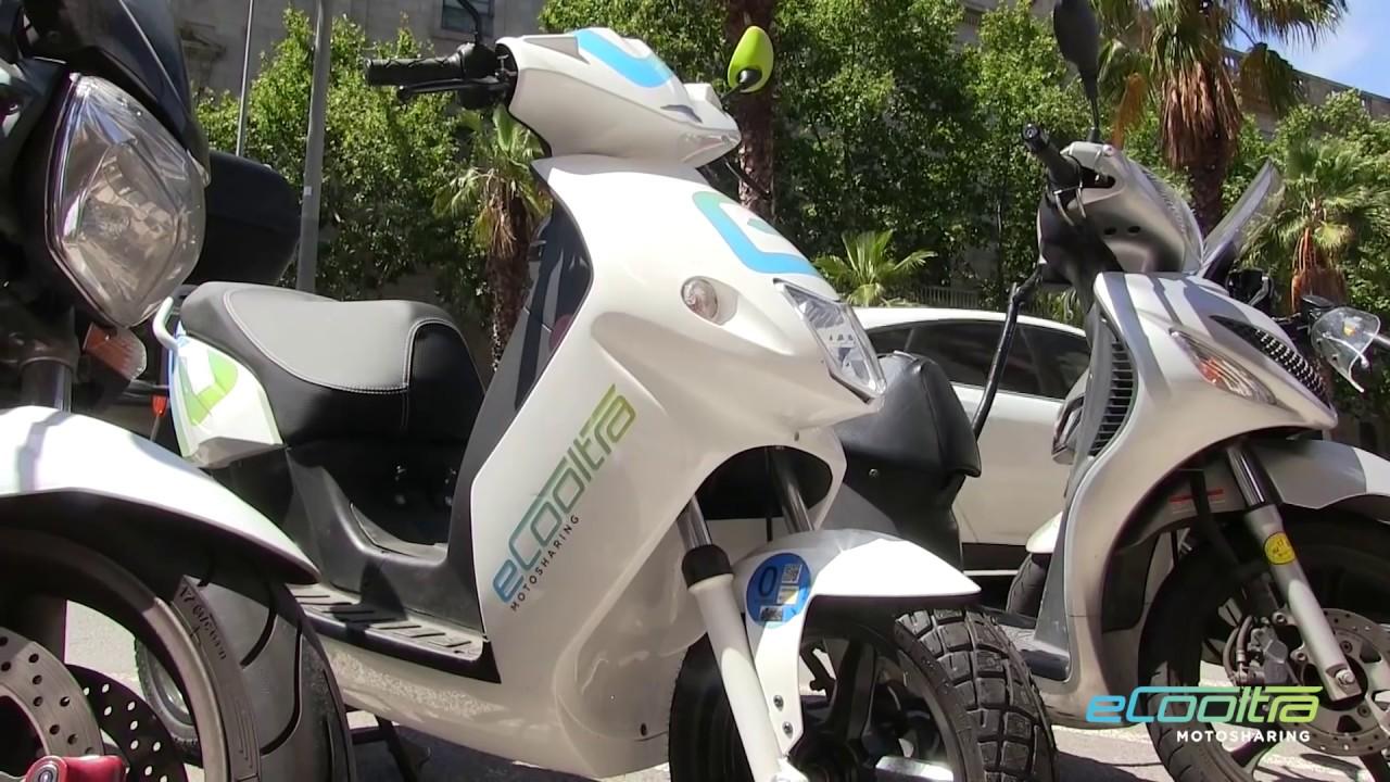 Servicio de motos eléctricas compartidas para Madrid
