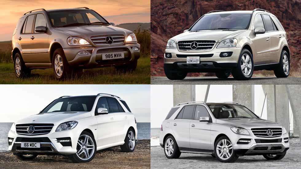Clase M: 20 años del SUV de Mercedes