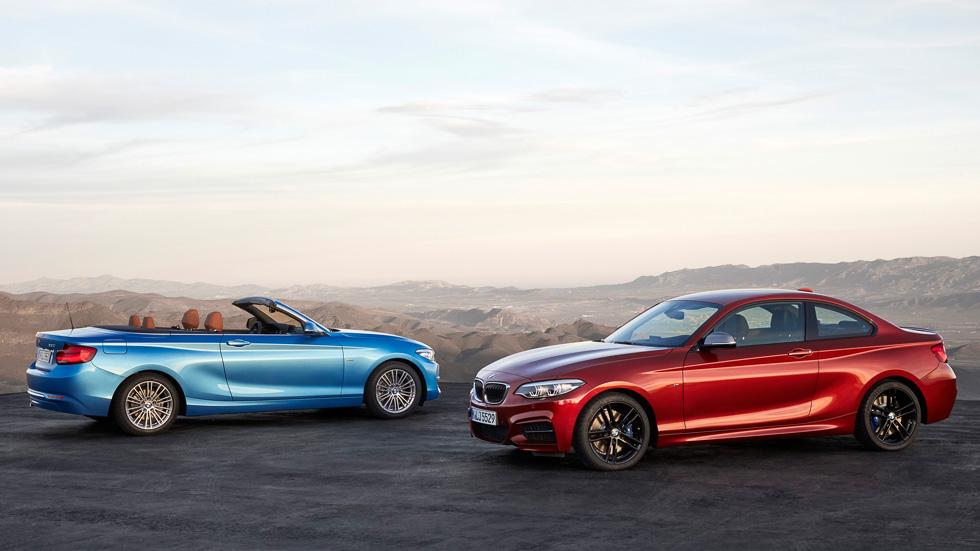 BMW Serie 2 Coupé y Cabrio 2017: diseño exterior e interior actualizados