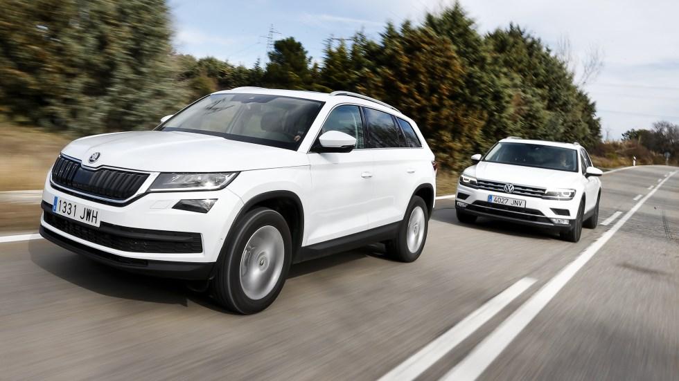 VW Tiguan vs Skoda Kodiaq 2.0 TDI: ¿el SUV enemigo en casa?
