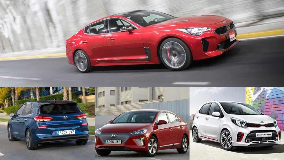 El calendario de coches y SUV nuevos de Hyundai y Kia en 2017