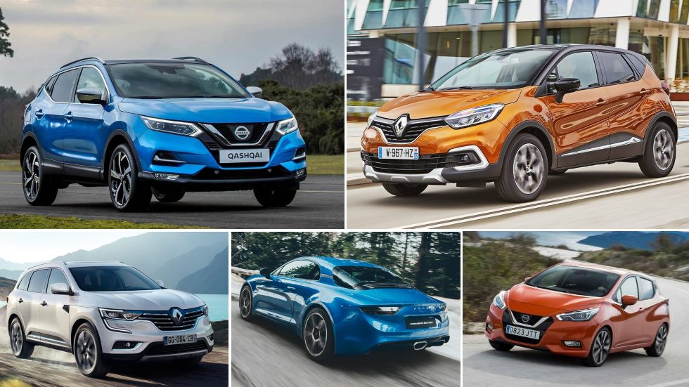 El calendario de coches y SUV nuevos de Renault y Nissan en 2017