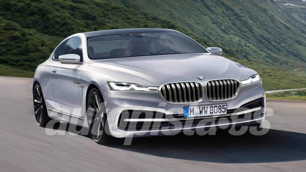 ¡Oficial! BMW lanzará un Serie 8 como su deportivo más lujoso