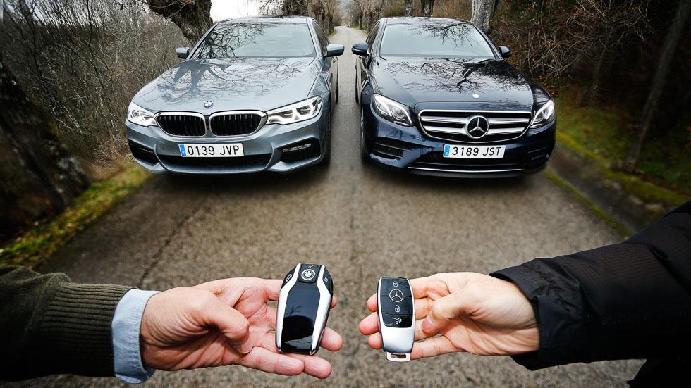 BMW 520d vs Mercedes E 220d:¿cuál es la mejor berlina de lujo?