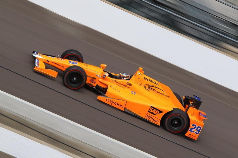 500 Millas de Indianápolis: Alonso fue el más rápido de los debutantes