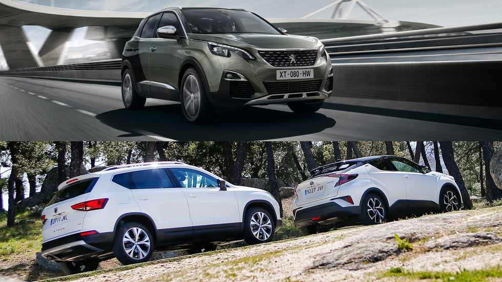 Revista Autopista 3008: Seat Ateca, Toyota C-HR y Peugeot 3008, los SUV de moda