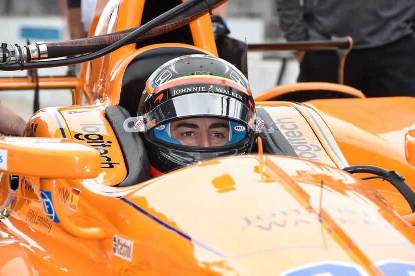 500 Millas de Indianápolis: Fernando Alonso fue el piloto que más rodó