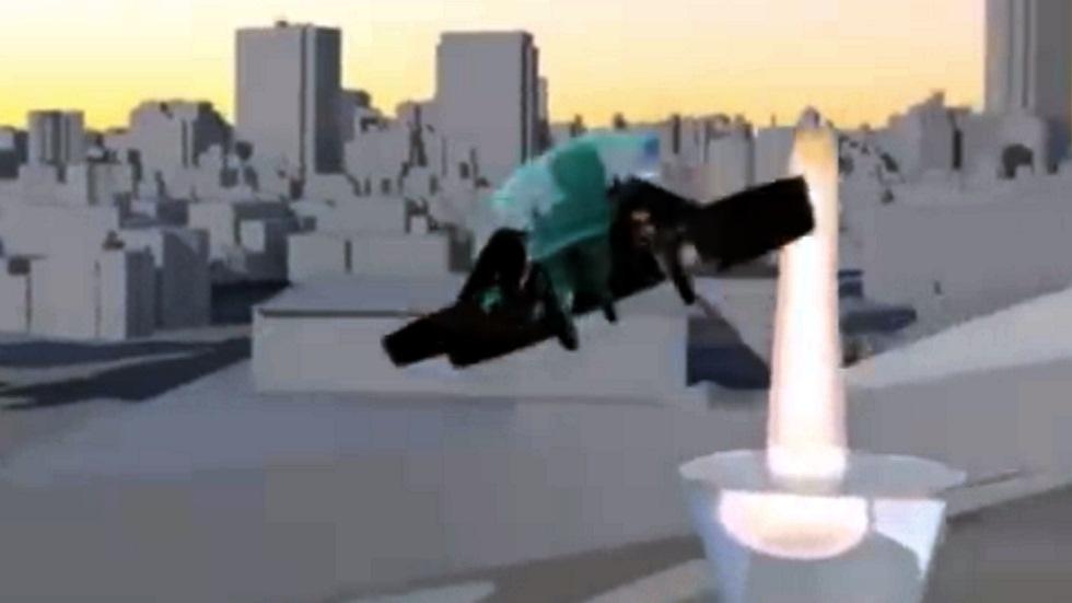 ¿Encenderá un coche volador el pebetero olímpico de Tokio 2020?