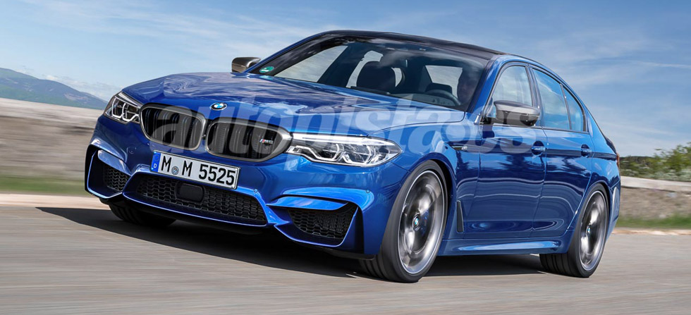 ¡Oficial! Así es el primer BMW M5 de tracción total (vídeo)