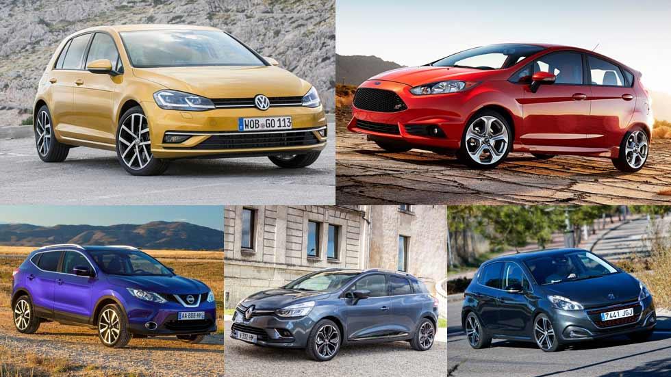 ¿Cuáles son los coches más vendidos en Europa en 2017?