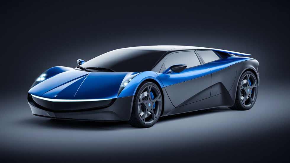 El superdeportivo eléctrico Elextra, listo en 2019. ¡Que tiemble Tesla!