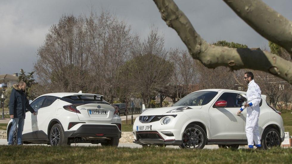 Toyota C-HR vs Nissan Juke Nismo RS: dos SUV radicalmente distintos