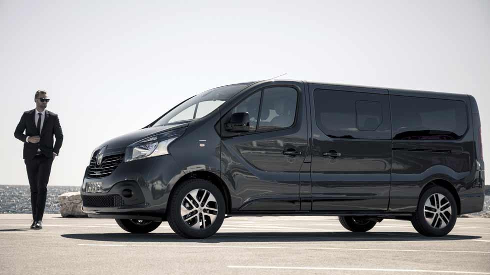 Renault Trafic SpaceClass, transporte de lujo hasta nueve plazas