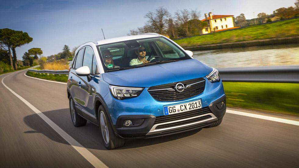 Opel Crossland X: a prueba el nuevo SUV urbano de Opel