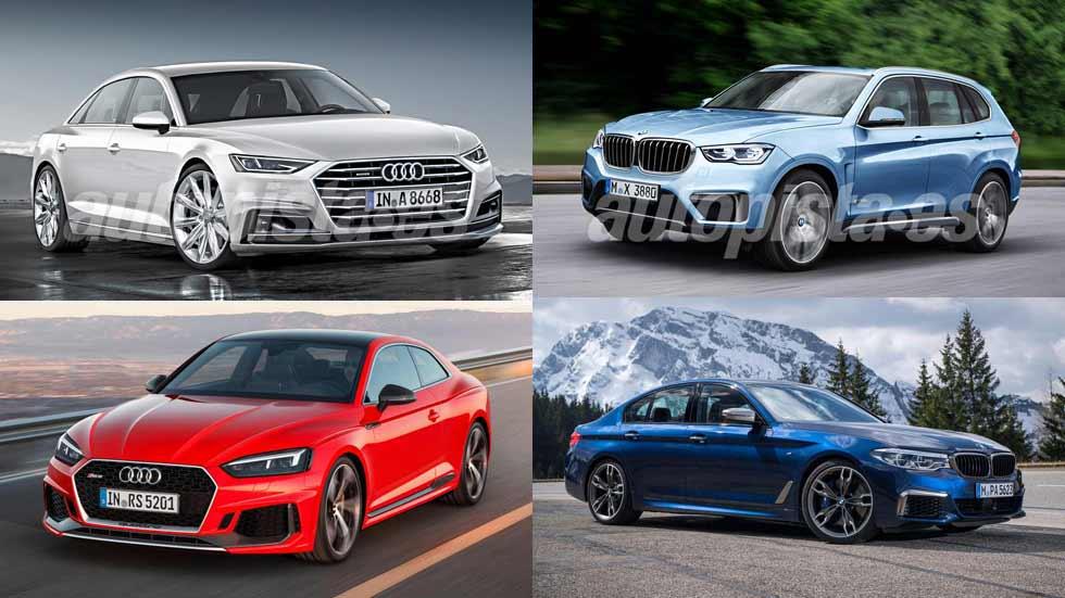 El calendario de coches y SUV nuevos de Audi y BMW para 2017