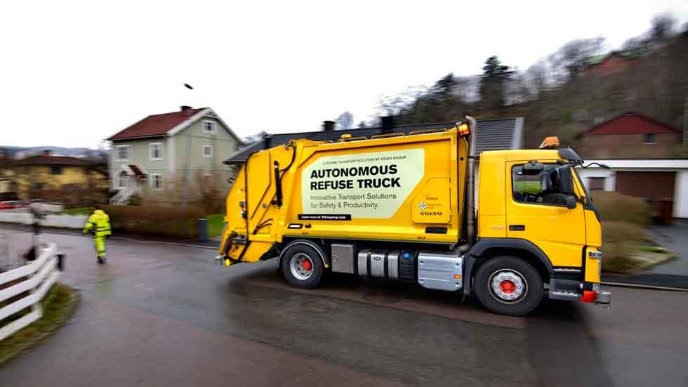 Así es el camión de basura autónomo (vídeo y fotos)