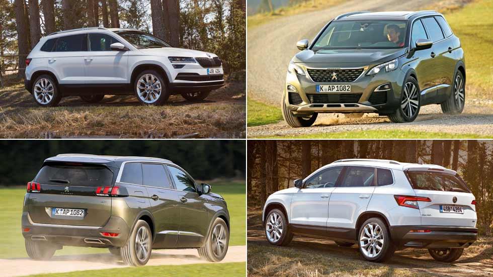 Revista Autopista 3009: probamos los nuevos SUV Peugeot 5008 y Skoda Karoq