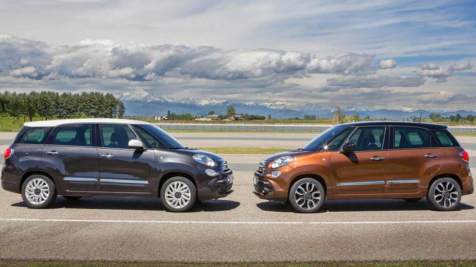 Fiat 500L 2017: cambio de imagen y mejoras de equipamiento