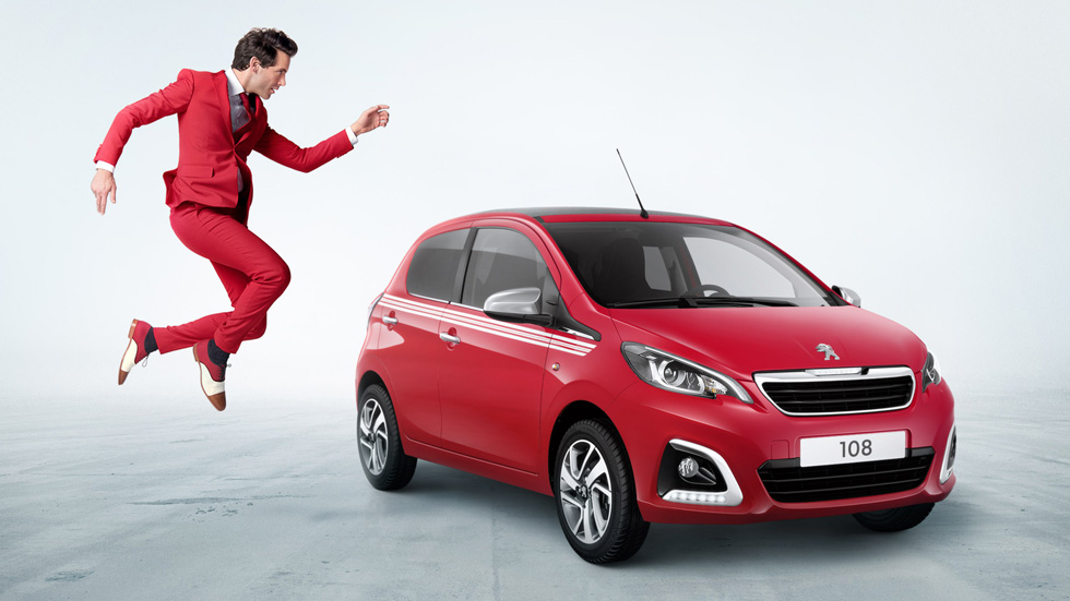 "Peugeot 108 Collection y Mika: una edición especial muy ""musical"""