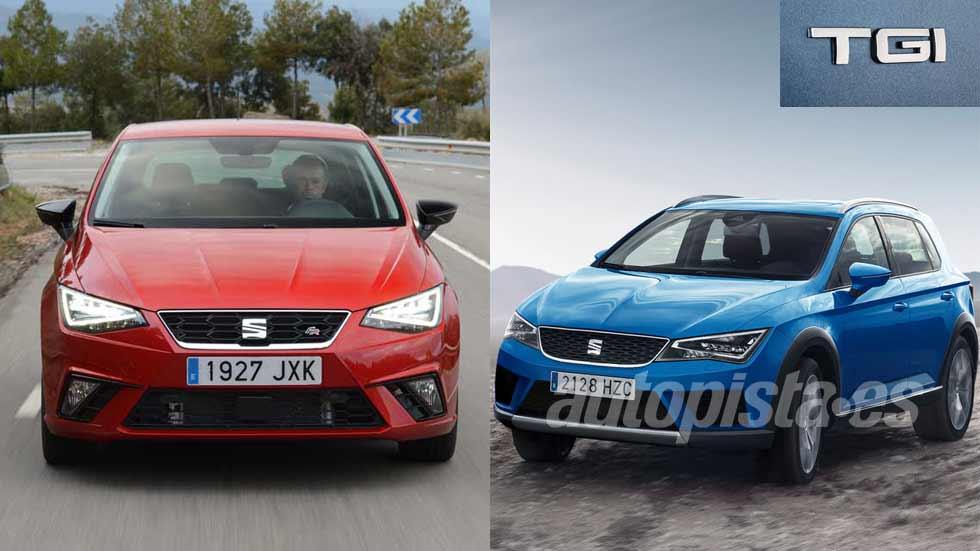 El Seat Ibiza y el nuevo SUV Arona, con versiones de gas natural