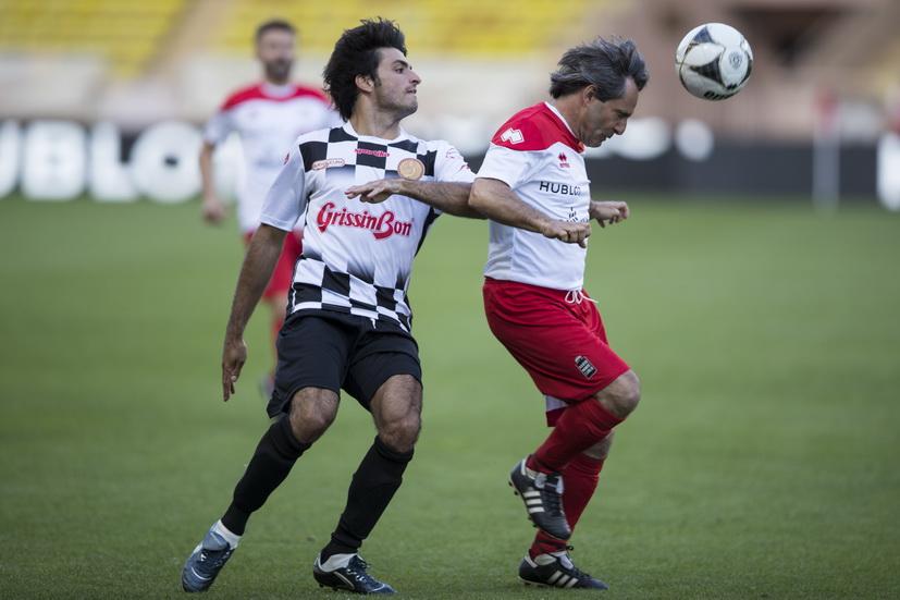 GP de Mónaco de F1: partido de fútbol benéfico