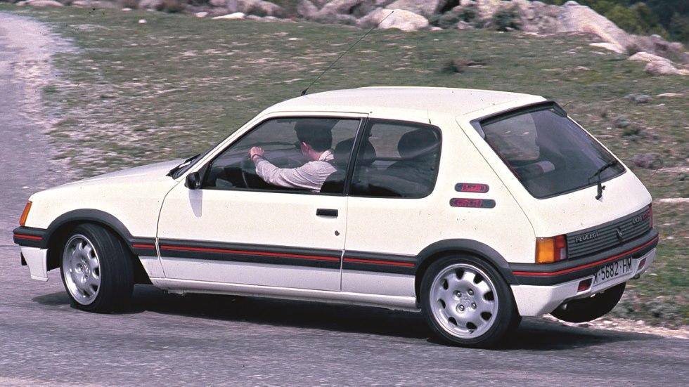Coches para el recuerdo: Peugeot 205 GTI (prueba original íntegra)