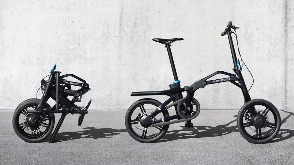 La bicicleta eléctrica plegable de Peugeot, ya en España