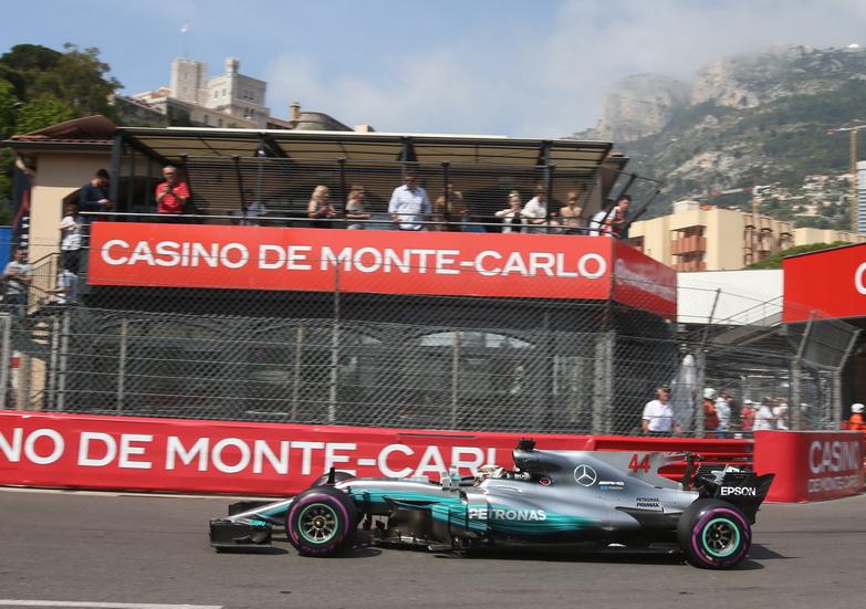 GP de Mónaco de F1: Hamilton lidera la primera sesión de entrenamientos