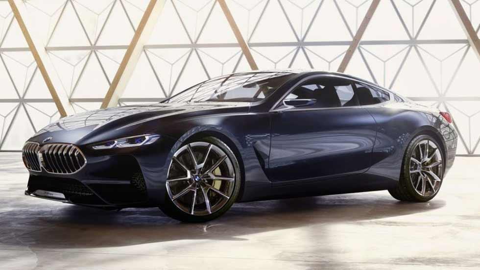 BMW Serie 8 Concept: lujo y tecnología sin límites para 2018