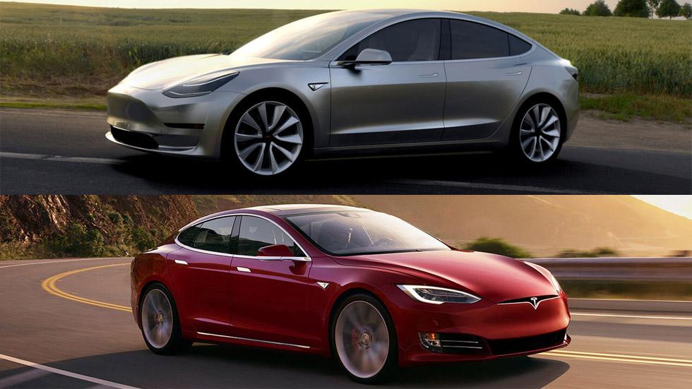 Así será el nuevo Tesla Model 3 frente al Model S