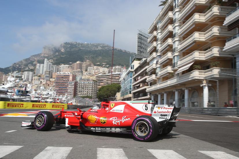 GP de Mónaco de F1: Vettel 1º y Sainz 5º en la segunda sesión