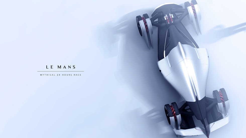 Tesla T1, energía eólica para un coche de competición