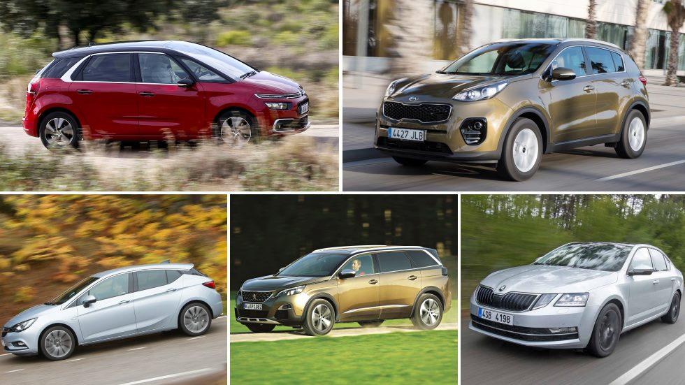 Los mejores coches y SUV para comprar por relación calidad/precio