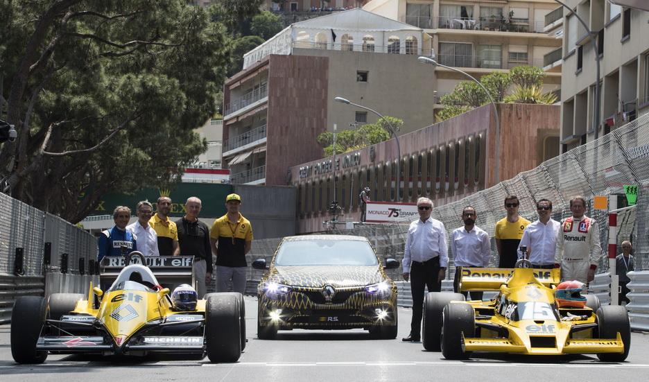 GP de Mónaco de F1: Renault está de celebración