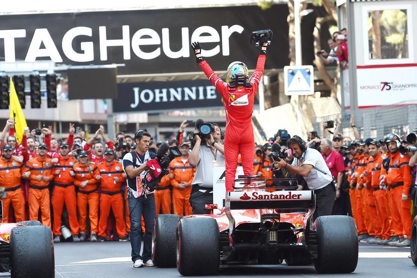 GP de Mónaco de F1: Magnífico doblete de Ferrari