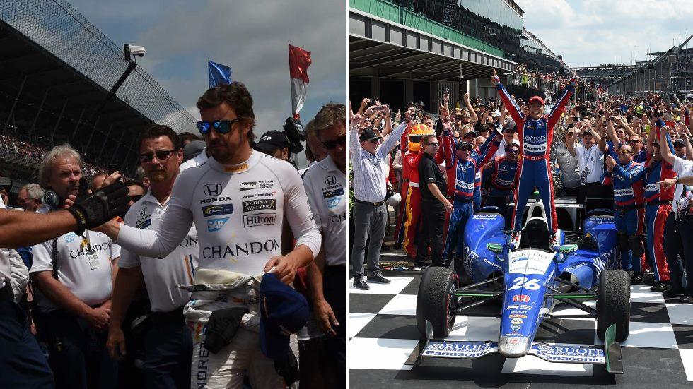 500 Millas de Indianápolis: desgracia de Alonso, triunfo de Sato